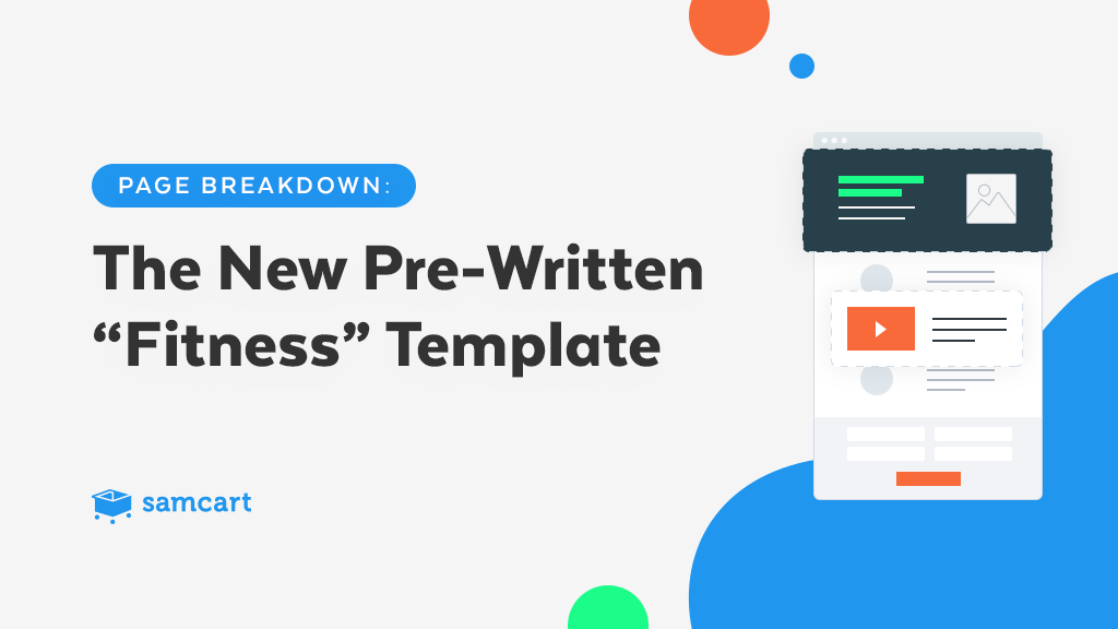 The New Pre-Written Fitness Template